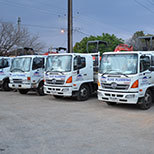 Elite Plumbing Services trucks